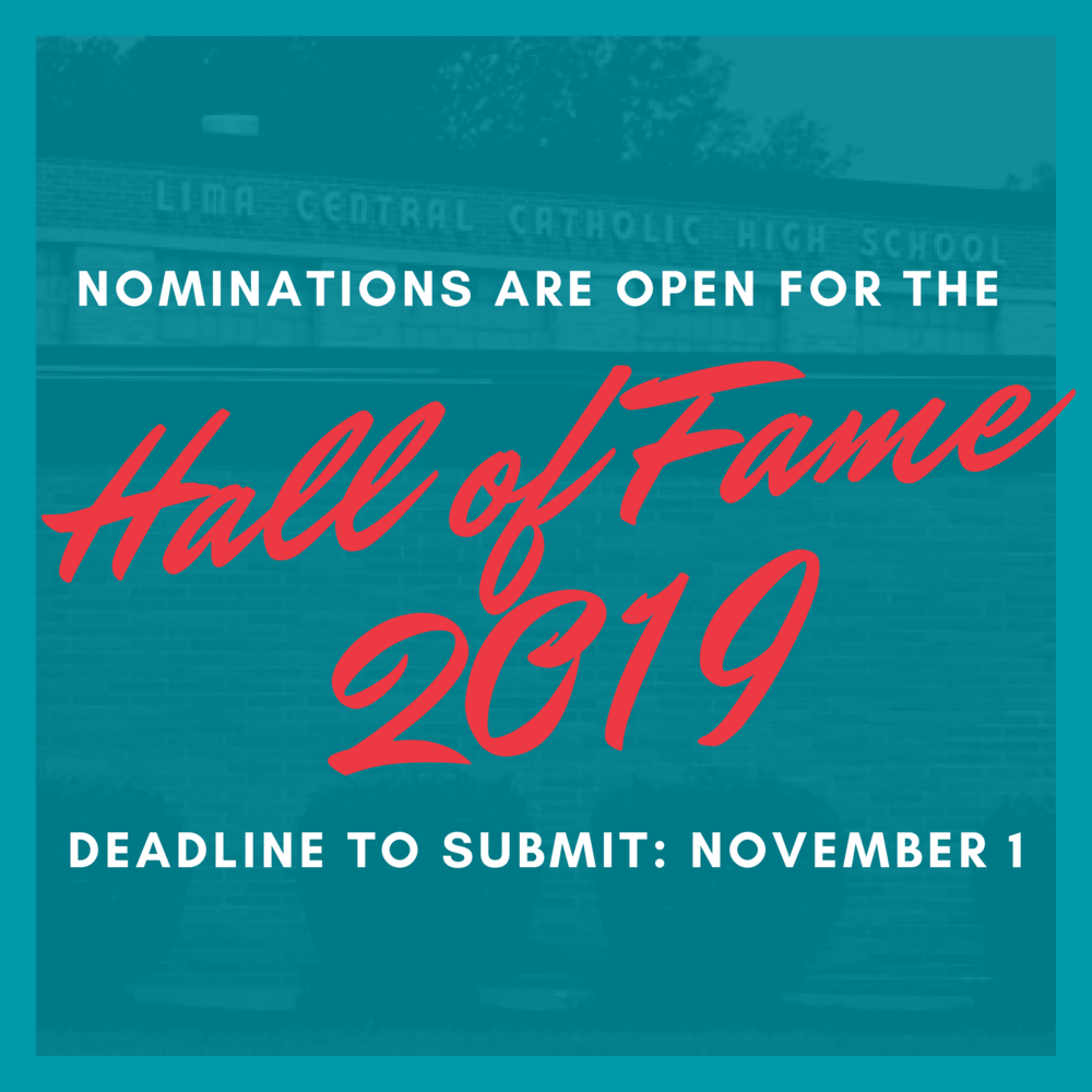 Nominations are OPEN for the 2019 LCC Hall of Fame