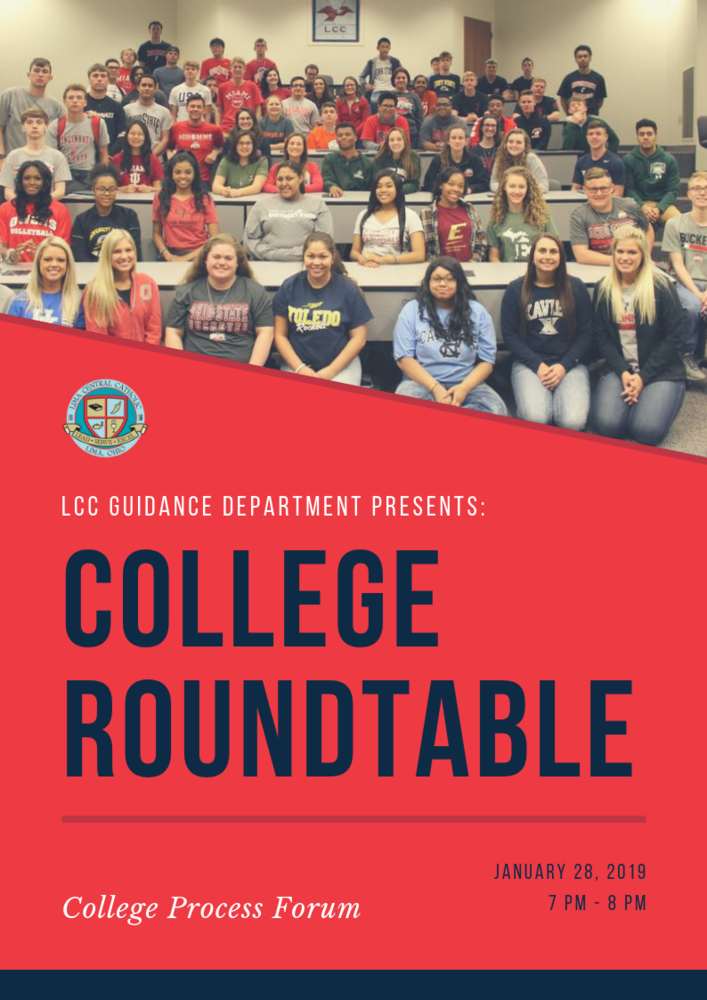 College Roundtable Mon. Jan 28