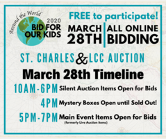 Auction Moves to Online Format on March 28th!