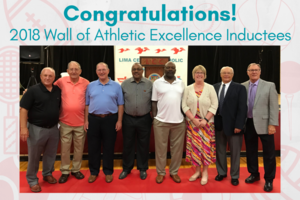 2018 Athletic Wall of Excellence Inductees