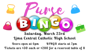 Purse Bingo Tickets on Sale!