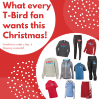 Spirit Wear in time for Christmas! Order by DEC 6!