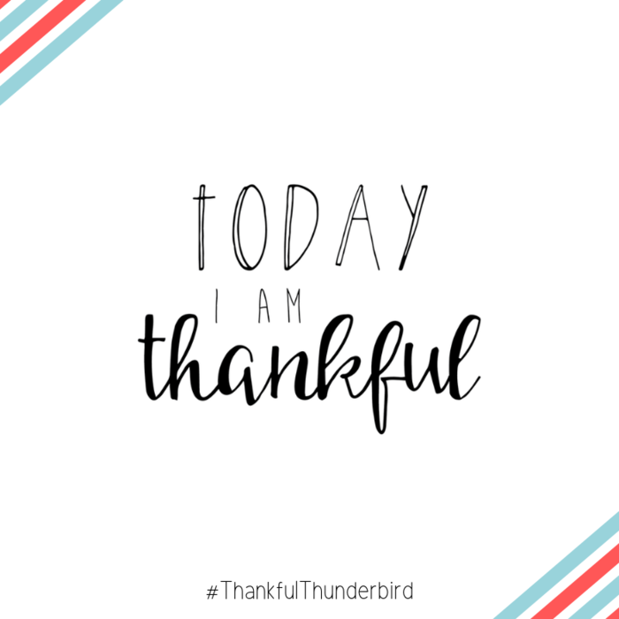 Thankful Thunderbirds