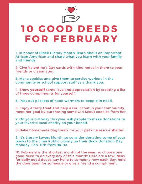 Feb Good Deeds