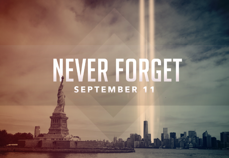 never forget 9/11