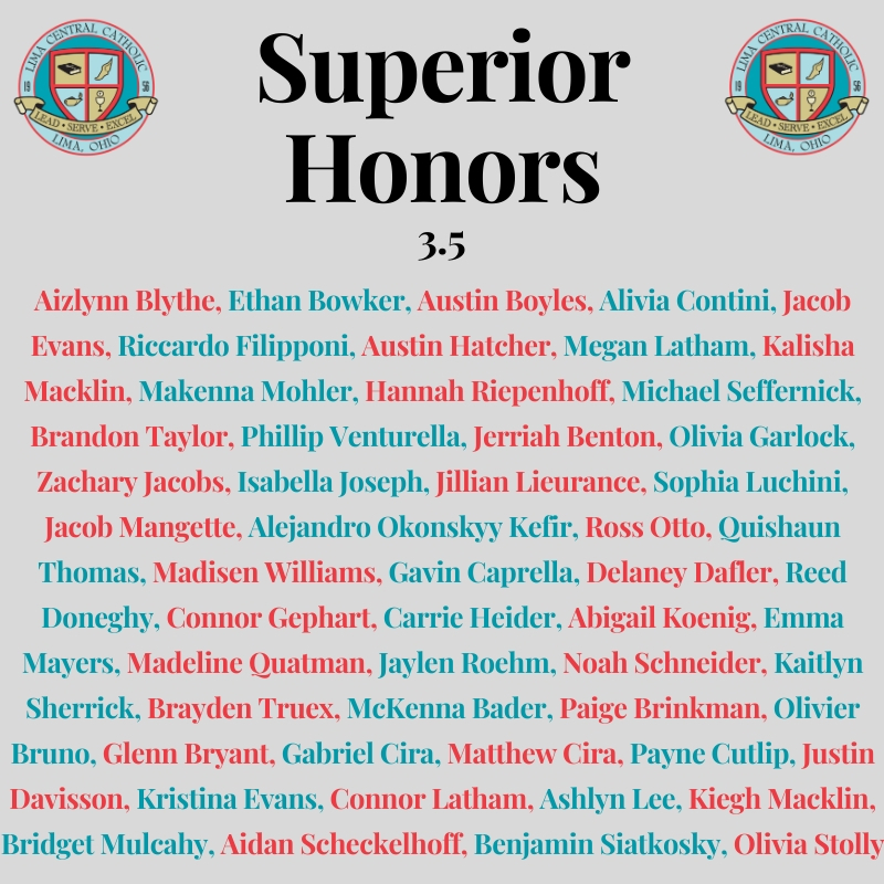 superior honors