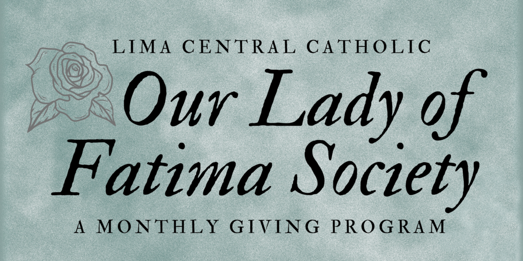 our lady of fatima giving club
