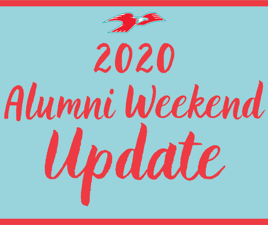 Alumni weekend update 2020